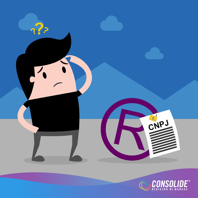 Registro de marca precisa de CNPJ?